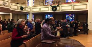 Memorial Service at New York Ave. Presbyterian Church
