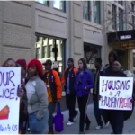 PFC marches, Housing is a Human Right